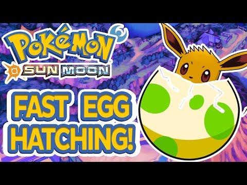 FAST Egg Hatching Shiny Pokemon Breeding! Pokemon Sun Moon