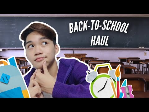 Back-to-School Haul (SM Department Store, Nike, National Bookstore) | Marcus Chleone