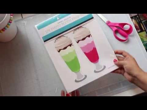 DIY Photo Booth Prop Kit tutorial by Paper & Cake