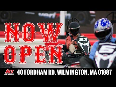 K1 Speed Go Kart Racing Boston / Wilmington MA Now Open