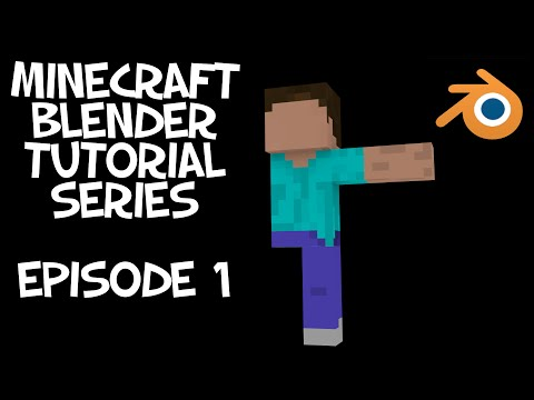 Minecraft Character Tutorial Episode 1: Modeling and Textureing (Blender)