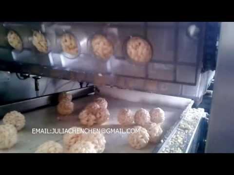 RICE CANDY BALL MOUDING MACHINE