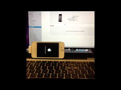 How To Remove A Password Off An iPhone 5 4s 4 3GS 3G