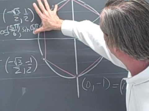Ma 113: Trigonometry multiples of pi/6 and pi/3