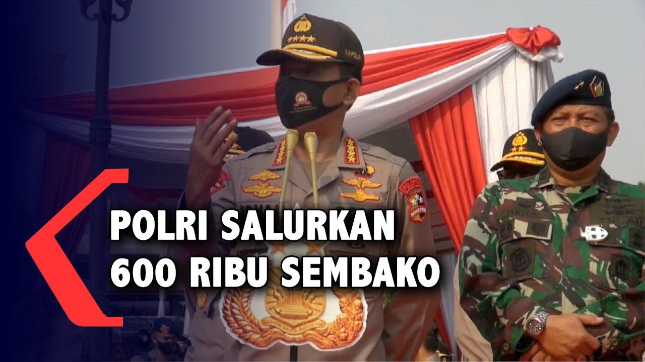 HUT Ke-74 Bhayangkara, Polri Salurkan 600 Ribu Paket Sembako