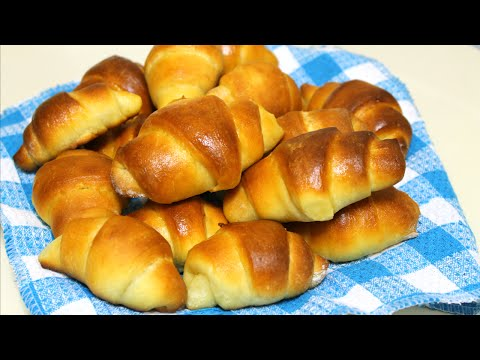 No-Knead Crescent Rolls Recipe - Dinner Rolls - in the Kitchen With Jonny Episode 71