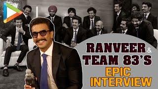 EXCLUSIVE: Ranveer Singh & Team 83 FUNNIEST Interview | Hard Work & Challenges | Anthem Of 83