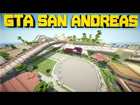 Minecraft PE Custom Map GTA San Andreas ! [DOWNLOAD]