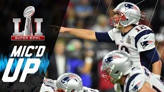 Super Bowl LI: Patriots vs. Falcons Mic