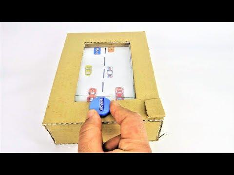 How To Make Car Racing Desktop Game from Cardboard