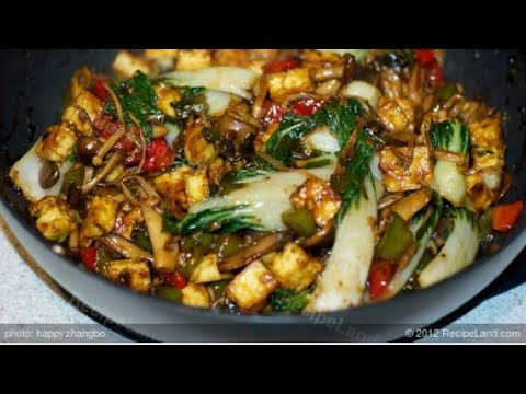 Bok Choy and Chicken Sausage