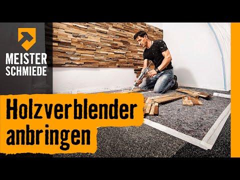 Holzverblender anbringen | HORNBACH Meisterschmiede