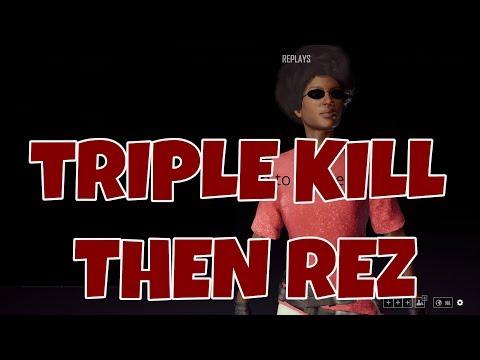 PUBG -Duos -Triple Kill and then Rez