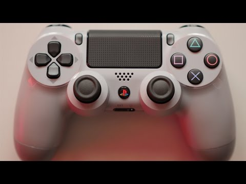 PS4 20th Anniversary DualShock 4 Controller Unboxing + Comparison - ZRZ