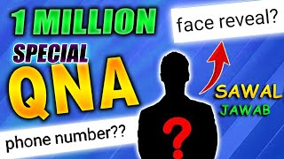 1 MILLION Special QNA 😱🔥 || Face Reveal And Total Girlfriends?😂 || FireEyes Gaming || Free Fire
