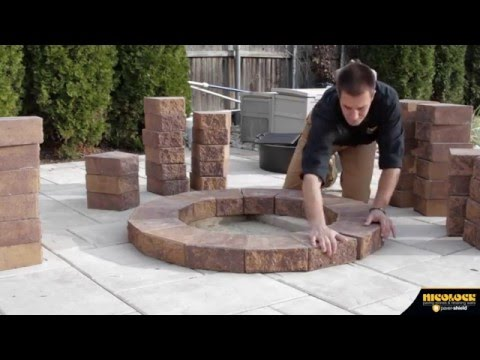 Nicolock: How to Build a Serafina Fire Pit