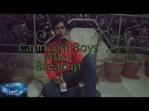 Capricorn Boys Feelings And Reaction After Breakup