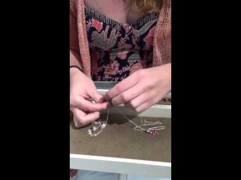 How to make a PANDORA pendant necklace!