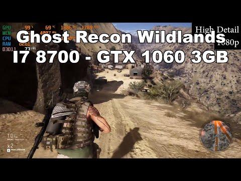 Ghost Recon Wildlands- GTX 1060 3GB - I7 8700 - CYBERPOWERPC Review