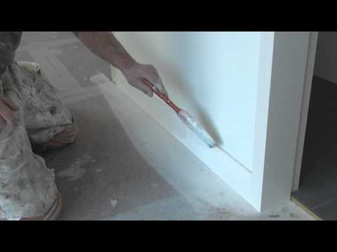 How To Paint Trim - Painting Base Boards or Skirting Boards