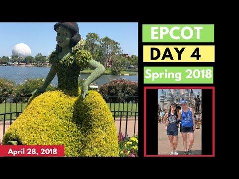 Walt Disney World Vlog: Day 4 | Epcot International Flower and Garden Festival Tour  2018