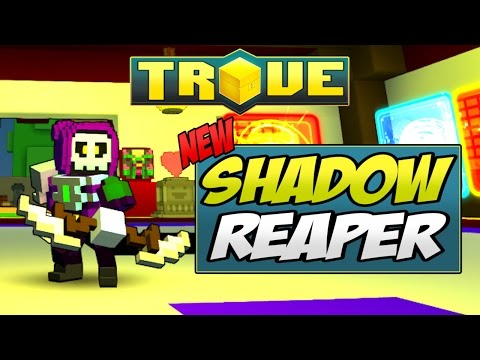 SHADOW REAPER (SCYTHE) COSTUME! - Trove Costume Mod Preview & Highlight