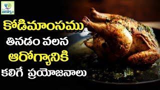 Top Benefits Of Eating Chicken - Mana Arogyam Telugu Health Tips