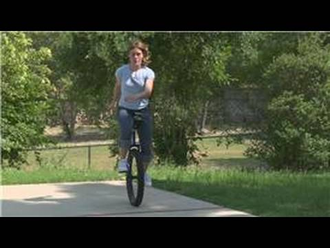 Beginning to Unicycle : Making Unicycle Turns