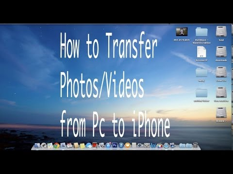 How to transfer Photos/Videos from Mac/PC to iPhones/iPod