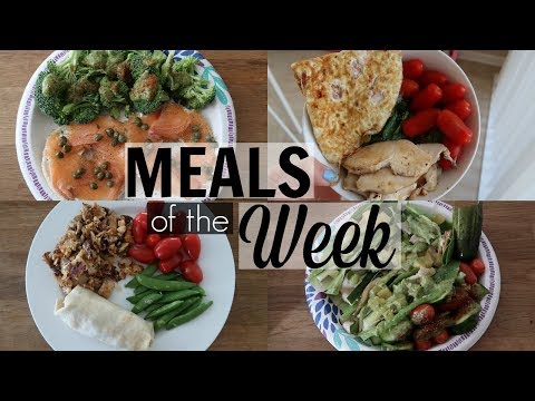 Healthy Meals of the Week #1 - SRV #199   Sarah Rae Vlogas  