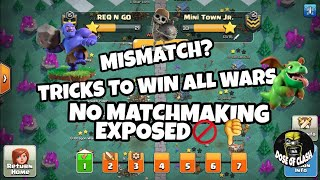 Matchmaking Coc Clans war