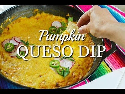 Pumpkin Queso Dip {No Velveeta!}