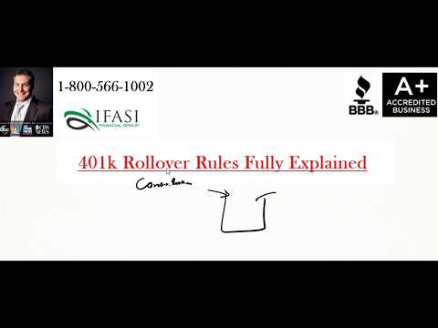 401k Rollover Rules - What are 401k Rollover Rules