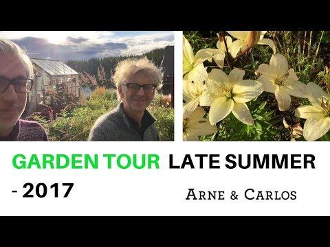 A tour of ARNE & CARLOS garden. The final days of summer.