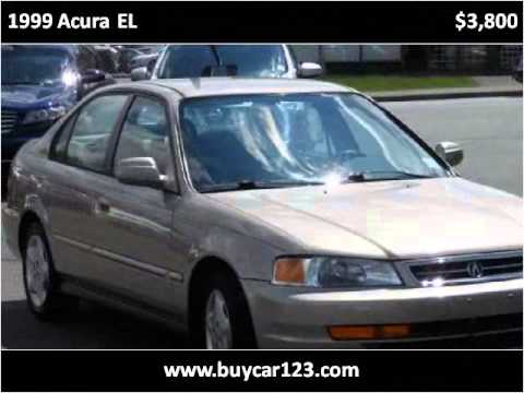 1999 Acura EL Used Cars Vancouver BC