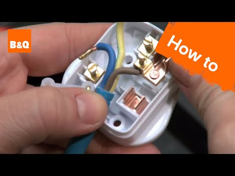 How to change a plug & fuse