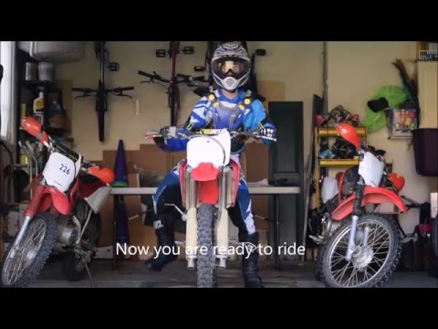 How to change engine oil on Crf150r