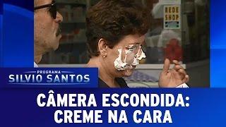 Câmera Escondida (18/12/16) - Creme na Cara