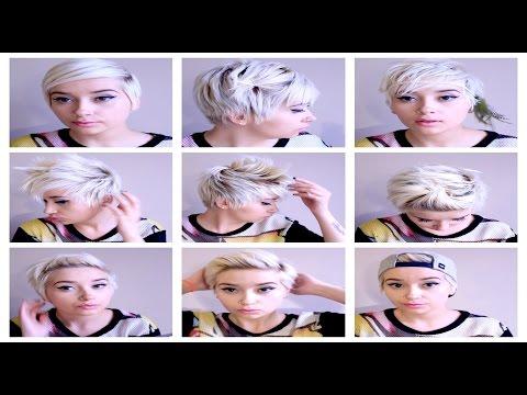 Seven No Heat Pixie Hairstyles    Hair Tutorial Pt. 3