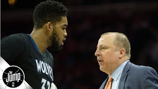 Karl-Anthony Towns' comments were a slap in the face to Tom Thibodeau - Tim MacMahon   The Jump