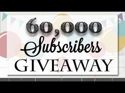 60,000 Subscribers Week Long Giveaway!