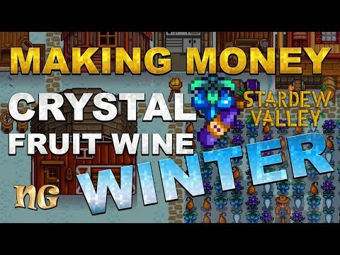 Stardew Valley Tips: How to make money on Winter with Crystal Fruit Wine