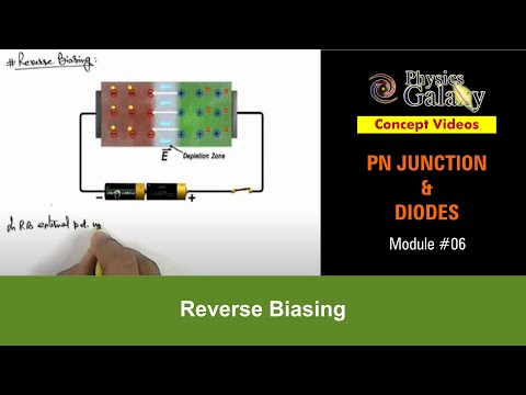 6. Physics Lecture of 12th Class| PN Junction & Sem Diodes | Reverse Biasing | by Ashish Arora