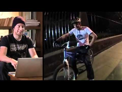 Behind the scenes of Inspired Bicycles.  Danny MacAskill.