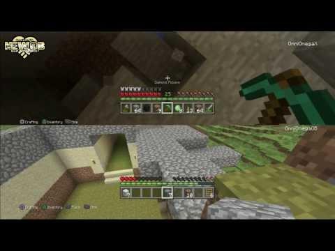 PS3 - Minecraft - Split Screen