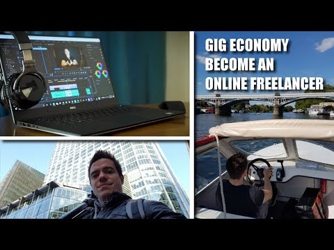The Gig Economy: Make Money Online As a Freelancer!