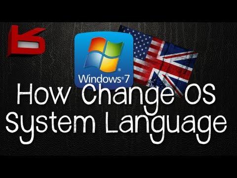 Easily Change Windows 7 System Language