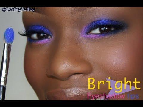 Eyeshadow TIPS   Primer & BRIGHT Eye makeup
