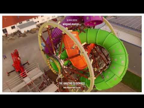 Slidewheel Wasserrutsche NEU 2017 / slide wheel waterslide NEW 2017