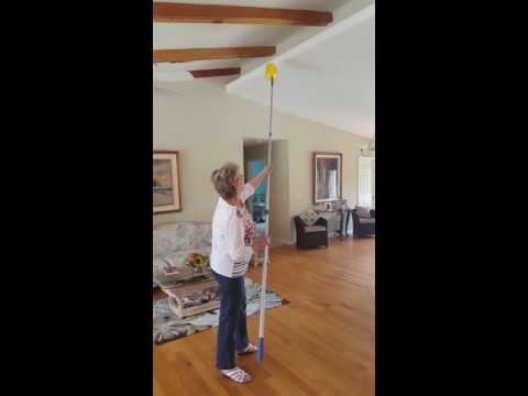 How to Dust High Ceilings, Cathedral Ceilings